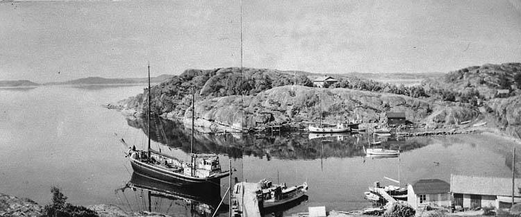 Fiskevik, Stora Askerön med skonaren KARL