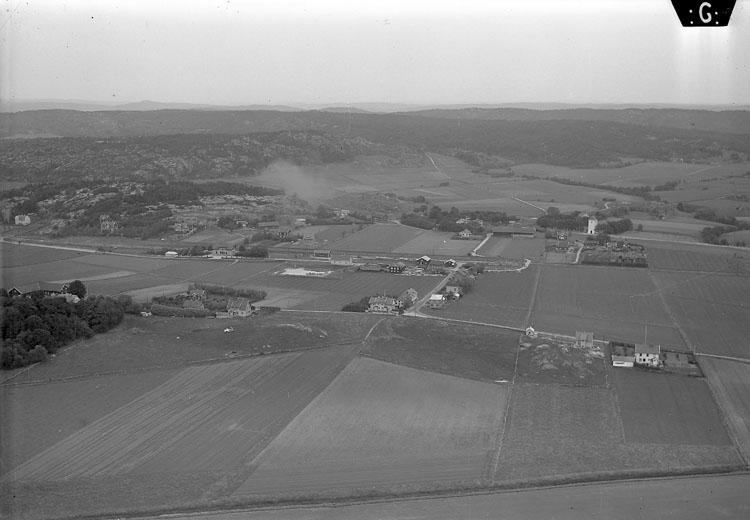 Flygbild över Säve 1935