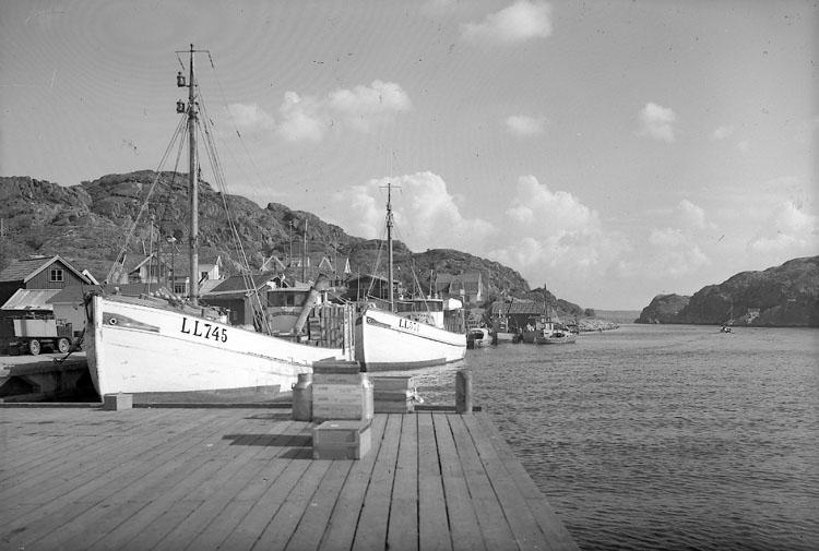 Rönnängs kaj 1949.