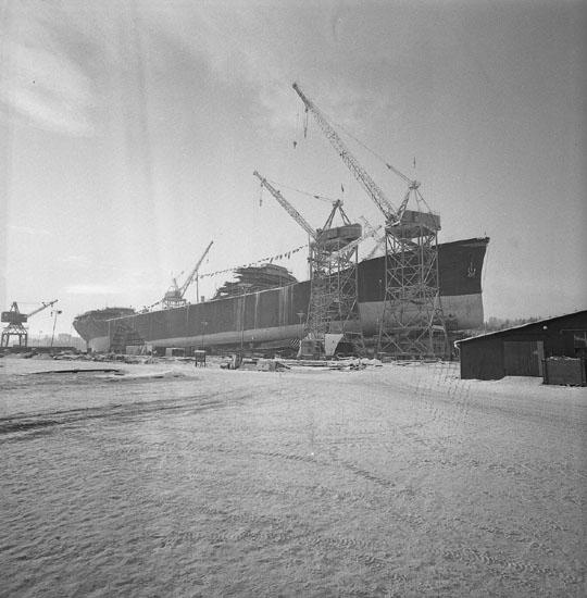 Dop och sjösättning av fartyg 195 T/T Beau Geste.