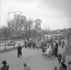 Demonstrations 1:a maj 1947.