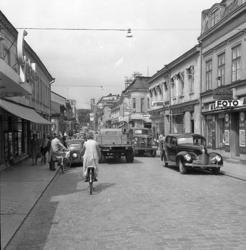 """Enligt notering: """"Trafikbilder i U-a Juli""""."""
