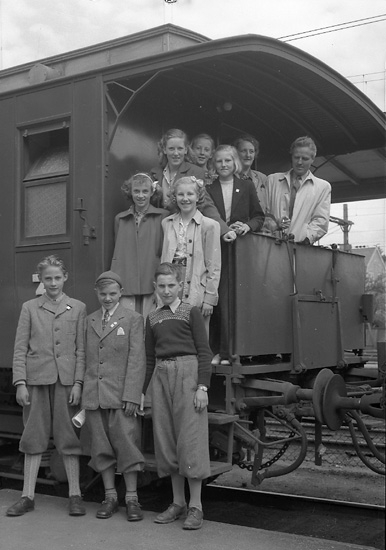 Skolresa i maj 1947