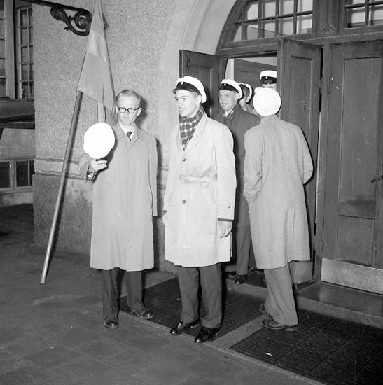 Studenter i maj 1955