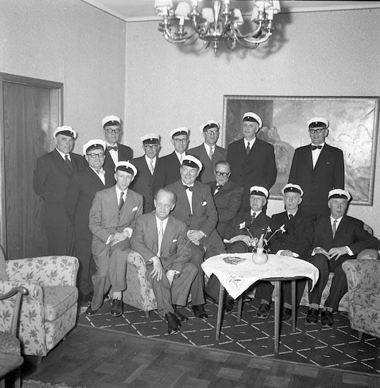Studentjubileum Uddevalla 1955