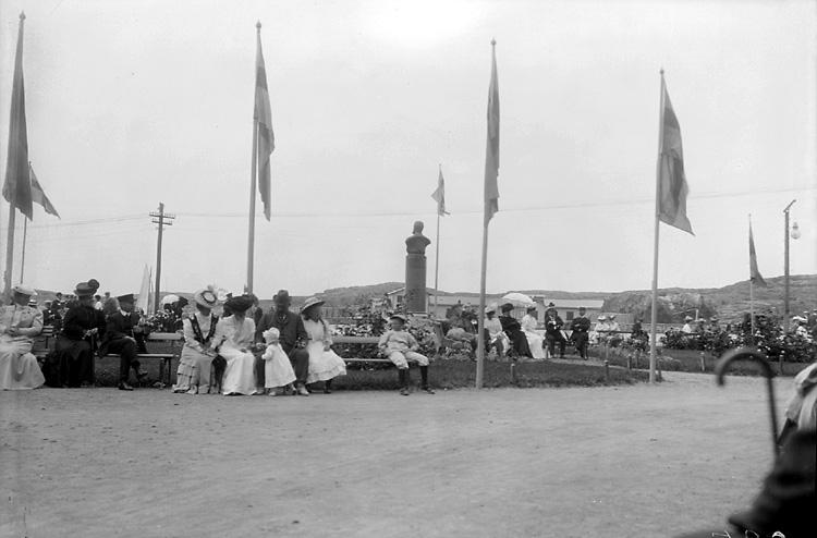 Marstrand sommaren 1906 eller 1907
