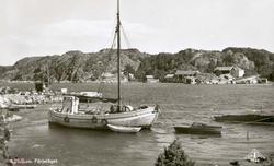 Jakten är SVANEN vid Lunnevik på Skaftö