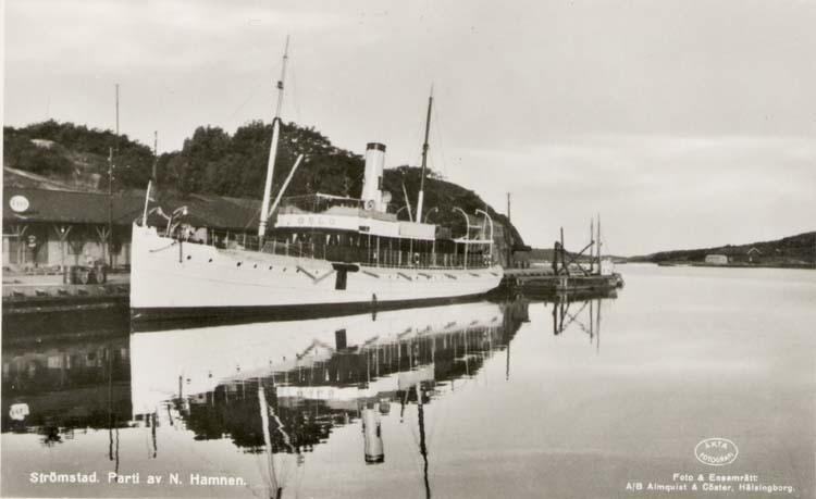 S/S GÖTEBORG i Norra Hamnen 1955