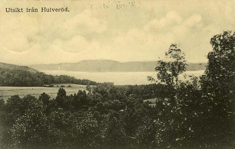 Utsikt från Hufveröd.