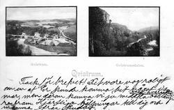 Qvistrum och Qvistrumsdalen.