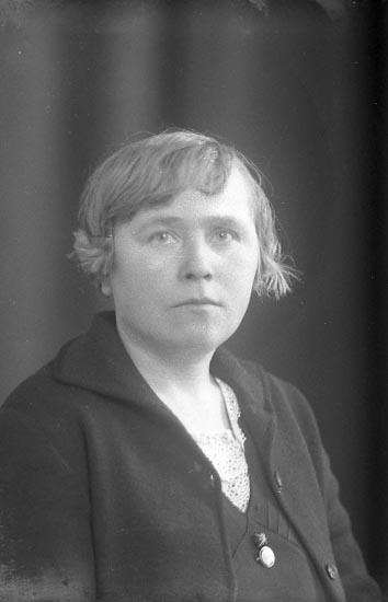 """Enligt fotografens journal nr 4 1918-1922: """"Svensson, John Västergård Här""""."""