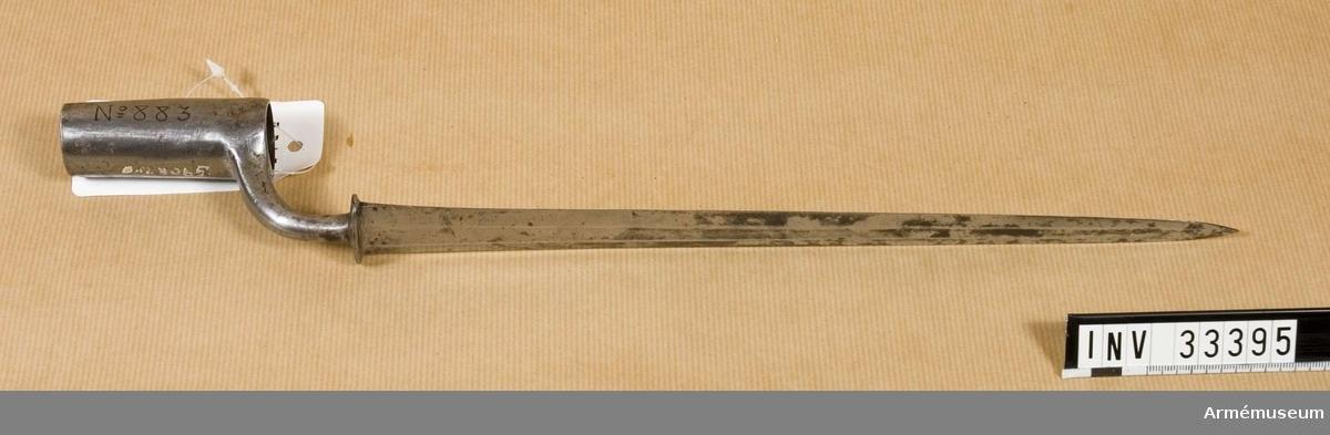 Grupp E II Troligen Hessen-Cassel. Modell från 1700- talets mitt.  Samhörande nr är AM.33394-5
