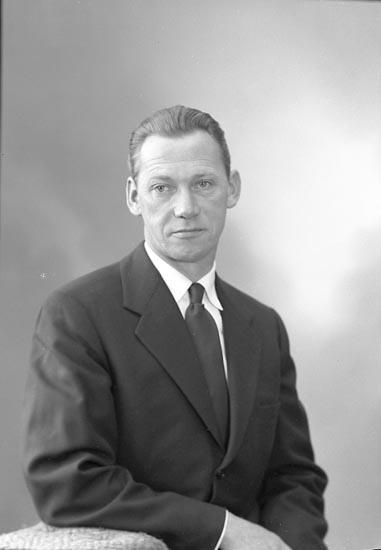 "Enligt fotografens journal nr 9 1958-: ""Johansson, Herr Tage Åregren, Ödsmål""."