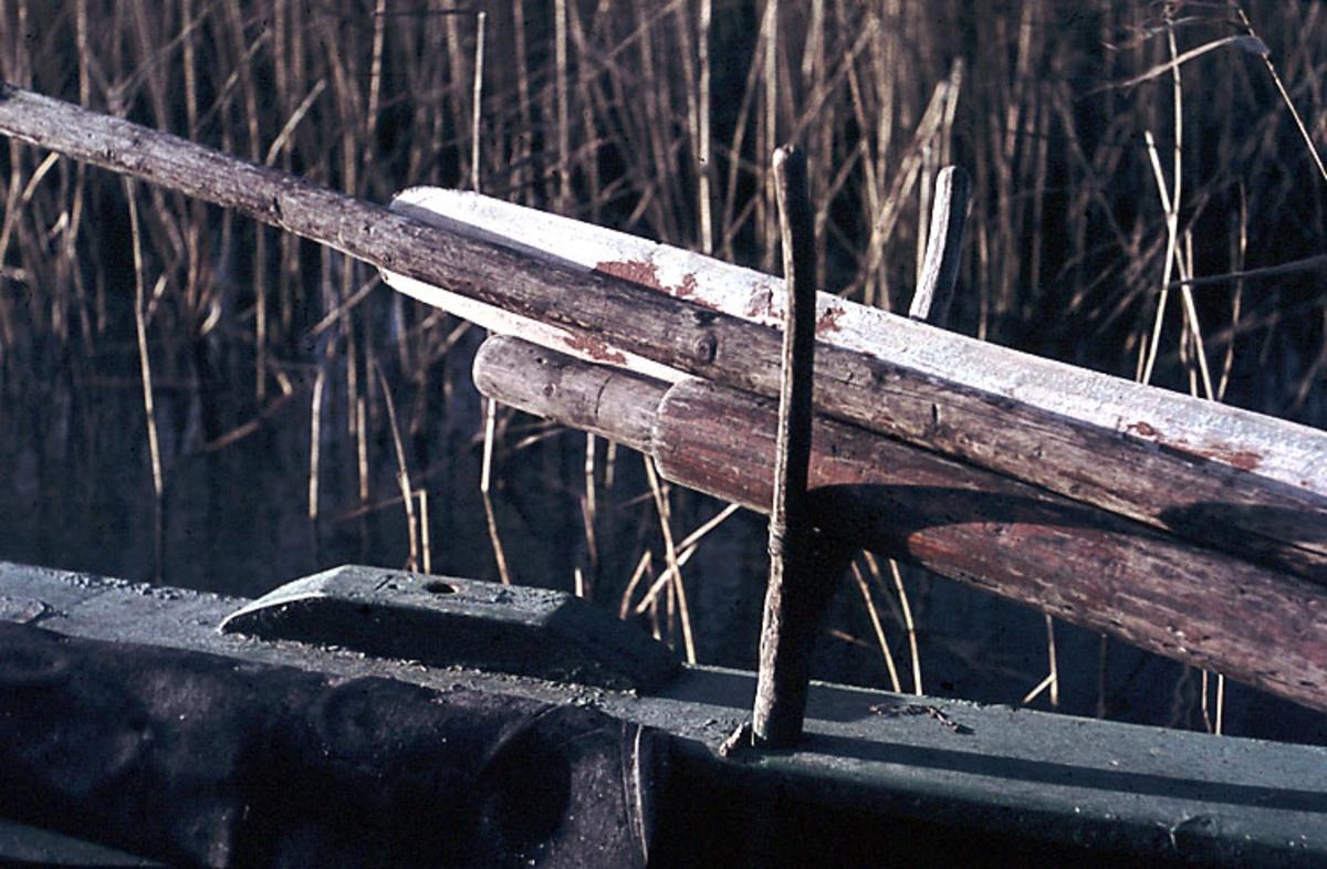 """Fotat Fr.o.m 1966-09-11 T.o.m 1966-09-17. Bottenplankbåt""."