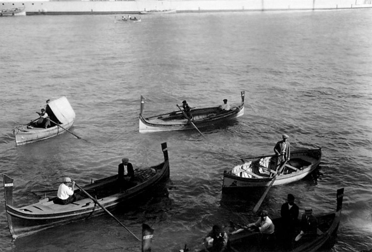 Skrivet på baksidan: Maltha 1925, Gdaiskas