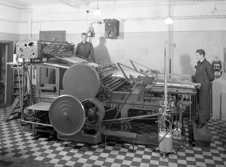 Bohusläningens Tryckeri, 1937
