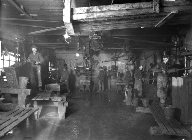 Kullgrens Enka, stenhuggeriet 1929