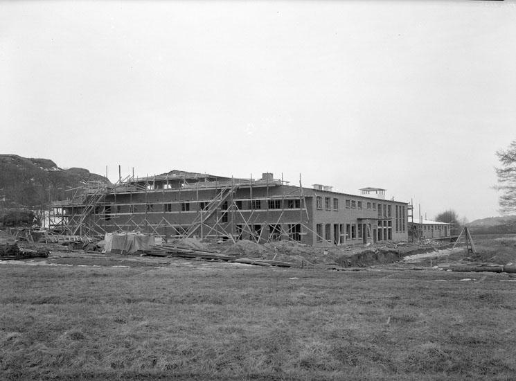 """Uppgift enligt fotografen: """"Uddevalla. VSS-fabriken byggdes år 1937."""""""