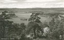 Oslofjorden fra Ekeberg.