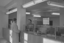 """Text till bilden: """"Nya Posten. Interiör. 1948.10.24"""""""