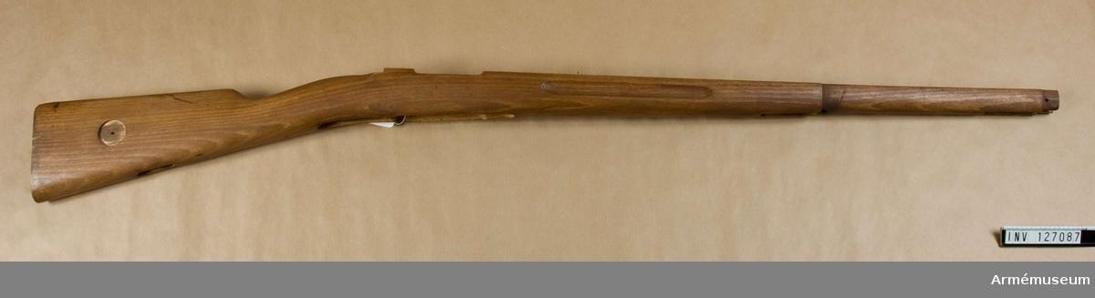 Stock till gevär m/1896