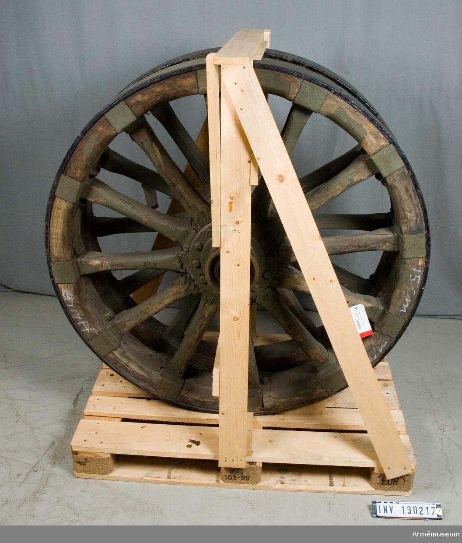 Hjul till haubits