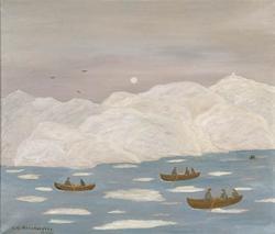 Bohuslänskt fjollandskap (fjordlandskap) [Målning]