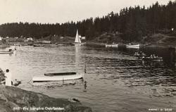 Fra Langåra Oslofjorden.