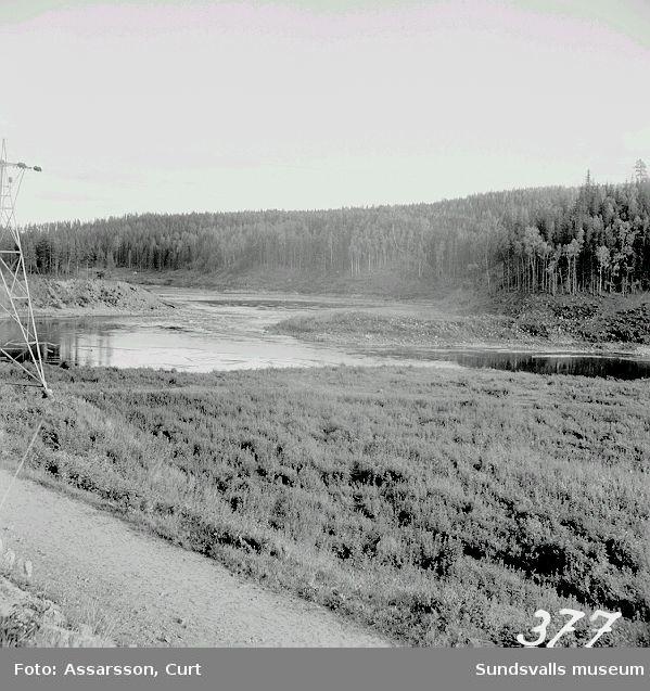 En liten fors vid Nedansjö.
