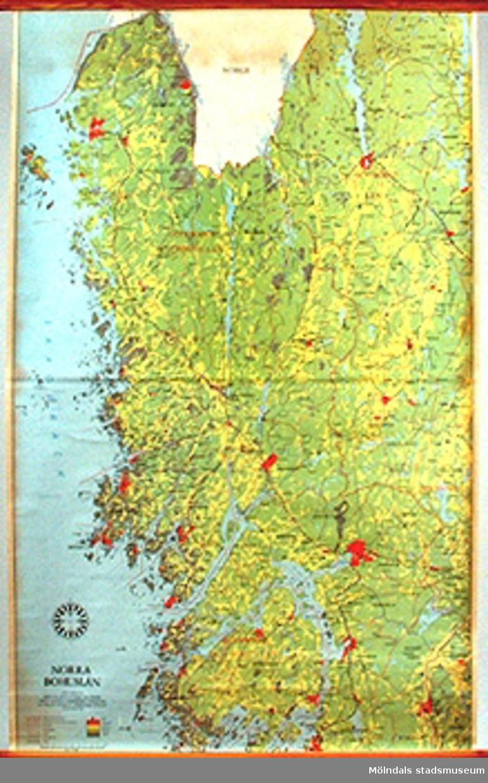 Skolkarta märkt nr 21.Norra bohuslän.