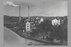 1 Frånö. Västernorrlands läns första massafabrik i produktio