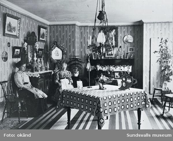 heminteriör omkr 1910-15