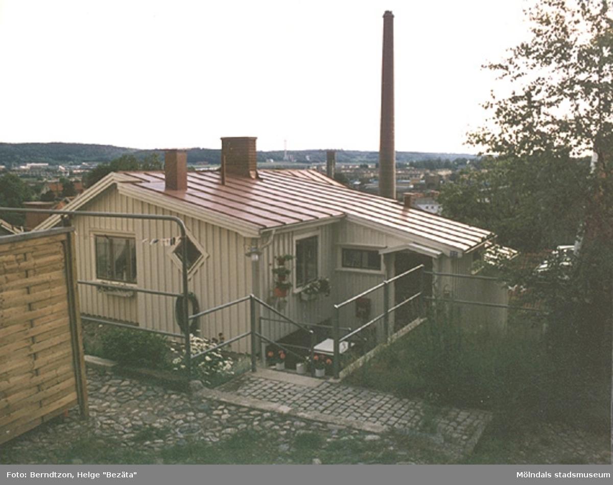Roten M 21 i Mölndals kvarnby, år 1985.