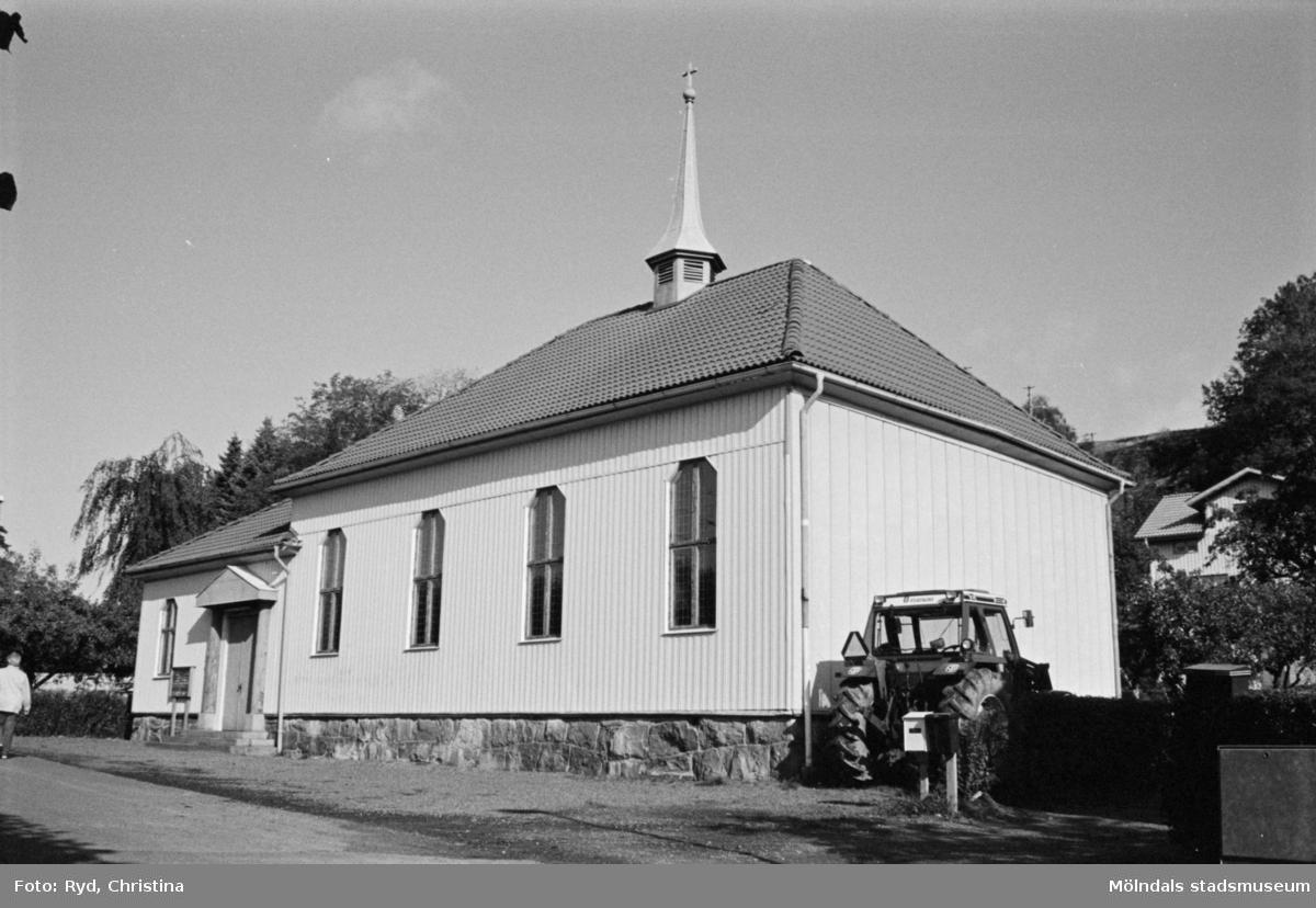 Brännåskyrkan/Metodistkyrkan i Brännås, 1991.