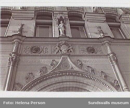 Stenhus från 1880-90-tal i Stockholm.
