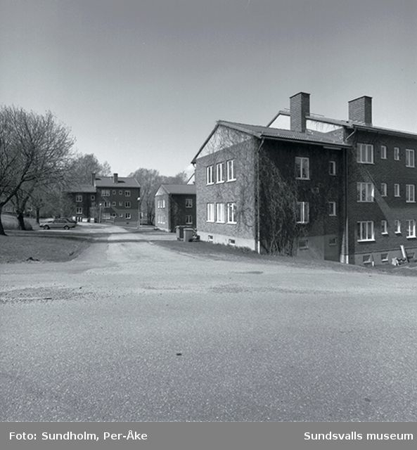 Invntering av 1940- och 50-talsområden. Västra Radiogatan 2-4.