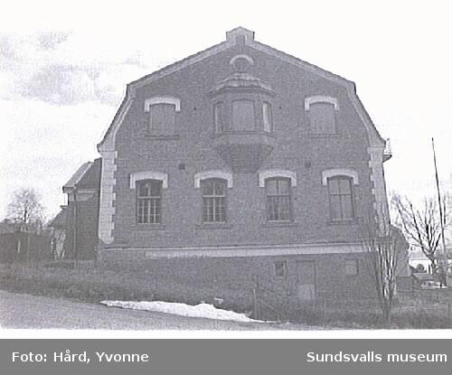 Skola. Gustafsberg, Alnö.