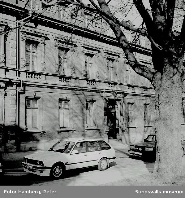 Kyrkogatan 26, Hedbergska huset