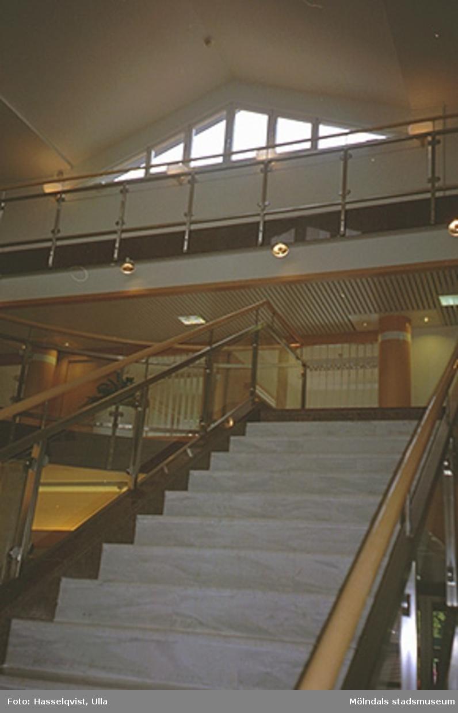 Den nya tillbyggnaden vid Knarrhögsgatan, augusti 1994.