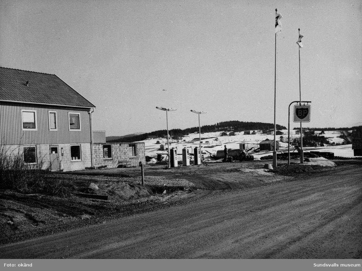 BP-stationen Gottne Södra, Örnsköldsvik.