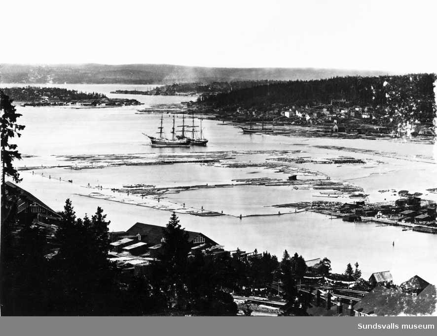 Essvik, troligen före sekelskiftet 1900.
