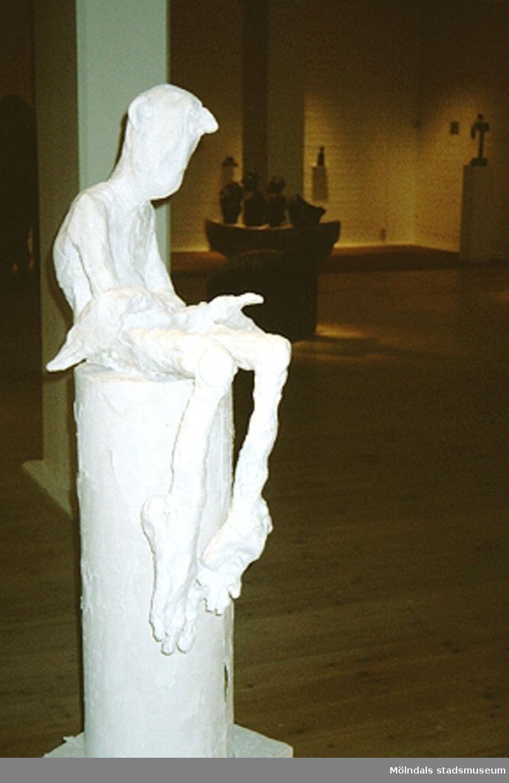 S. Collén i konsthallen.