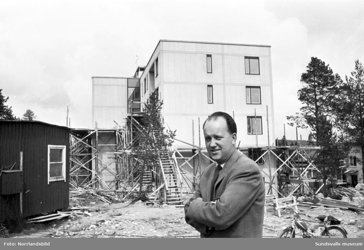 Ny tillbyggnad på Solhaga ålderdomshem.