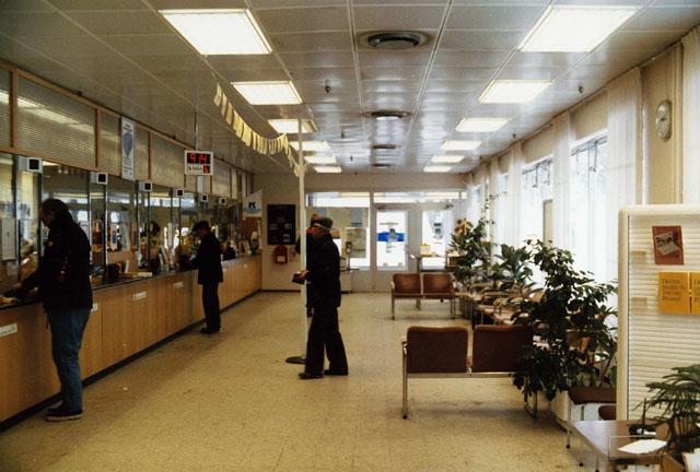 Postkontoret 826 01 Söderhamn Köpmangatan 7