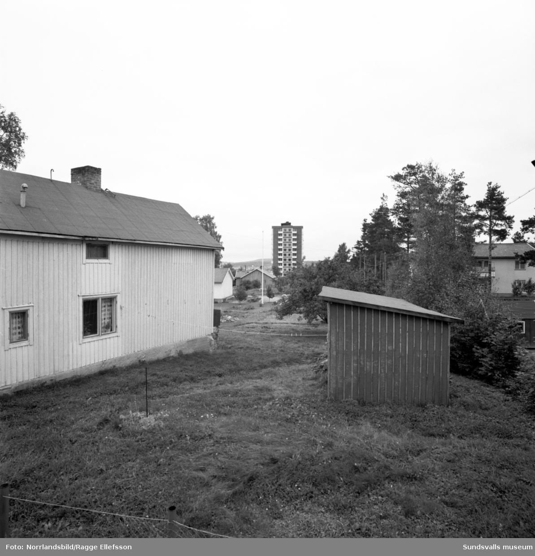 Flygfoton ver Kubikenborg och Sknsmon. - Sundsvalls
