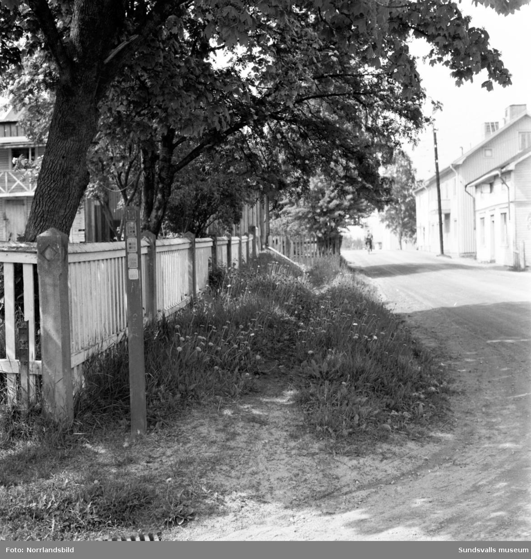 Gammal nedgången fastighet på Pilgränd 10, Södermalm. Huset finns ännu kvar (2017).