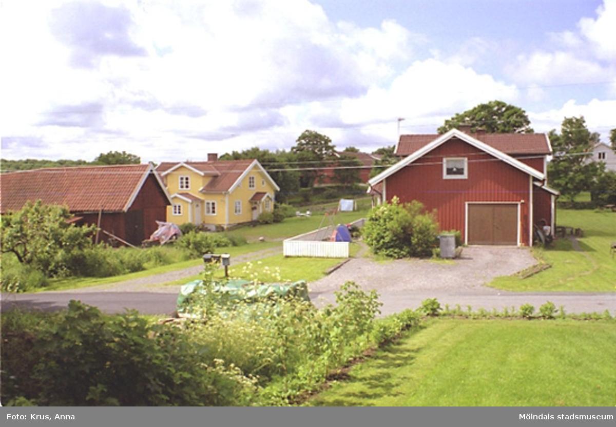 Gårdsbild från nordost. Våmmedal 2:164/2:9.