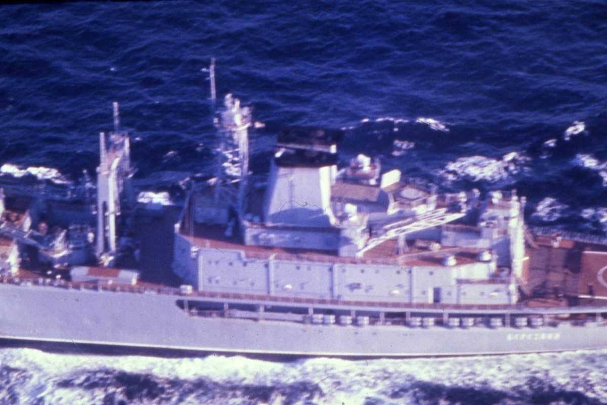 Russisk fartøy av Berezina - klassen og heter Berezina.