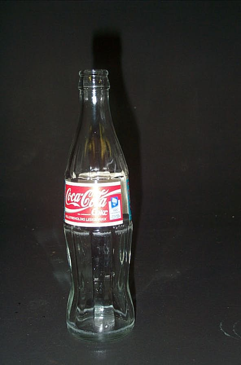 Coca Cola etikett med OL logo 1994