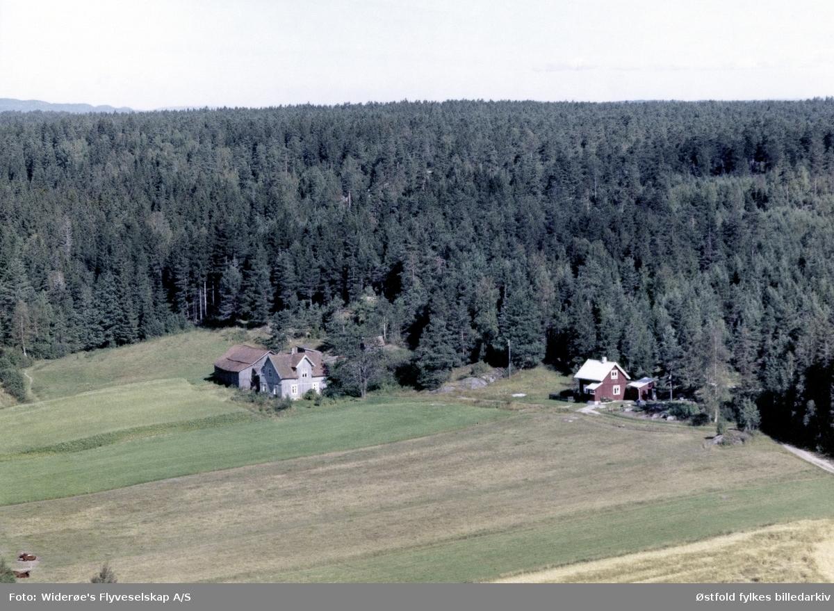 Kaase, Jeløy, flyfoto.